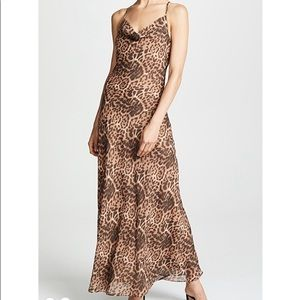 Leopard print dress / shop bop